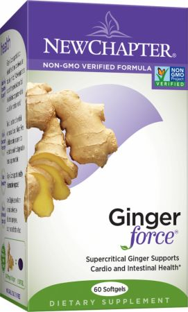 New Chapter, Ginger Force, 60 капсул