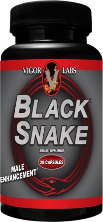 Vigor Labs, Black Snake, 30 капсул